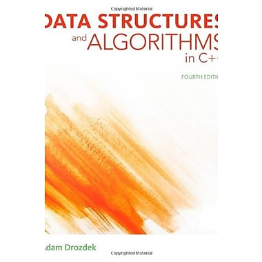 Data Structures and Algorithms in C++ Used Book (9781133608424)