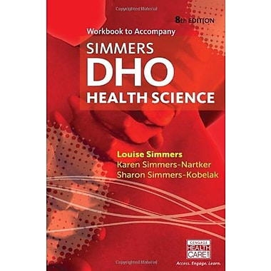 Workbook for Simmers' DHO: Health Science, 8th Used Book (9781133703204)