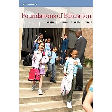 Cengage Advantage Books: Foundations of Education Used Book (9781133940807)