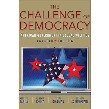The Challenge of Democracy Used Book (9781133951018)