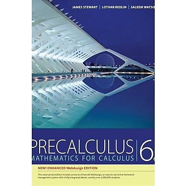 Precalculus, Enhanced WebAssign Edition (Book Only) Used Book (9781133954750)