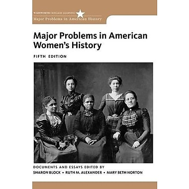 Major Problems in American Women's History Used Book (9781133955993)