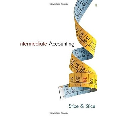 Intermediate Accounting Used Book (9781133957911)