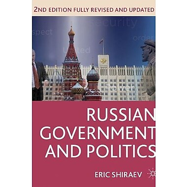 Russian Government and Politics Used Book (9781137269584)