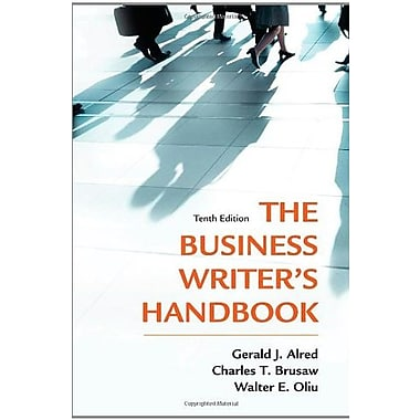 The Business Writer's Handbook, Tenth Edition, New Book (9781250004420)