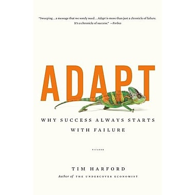 Adapt: Why Success Always Starts with Failure, Used Book (9781250007551)