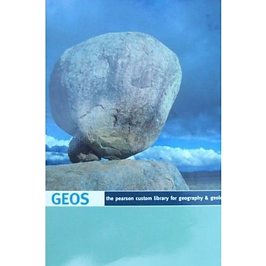 GEOS The Pearson Custom Library for Geography & Geology (Univ. of Texas edition), New Book (9781256021544)