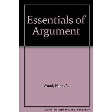 Essentials of Argument (9781256118510)