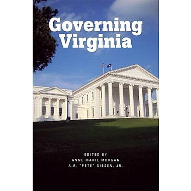 Governing Virginia, New Book (9781256426066)