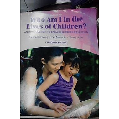 Title: WHO AM I IN LIVES OF CHILDREN, New Book (9781256547044)