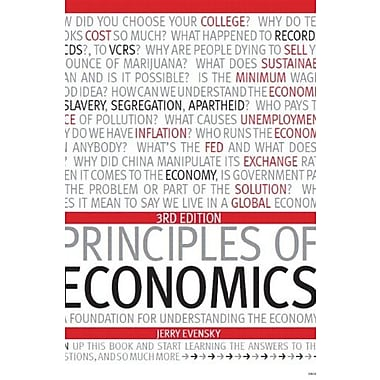 Principles of Economics: A Foundation for Understanding the Economy Package Syracuse University, Used Book (9781256732372)