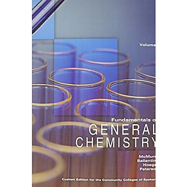 Fundamentals of General Chemistry Volume I, Used Book (9781256785088)