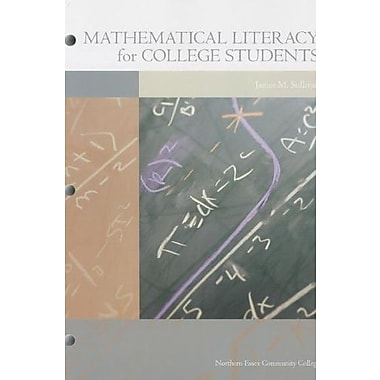 Mathematical Literacy for College Students, Used Book (9781256817512)
