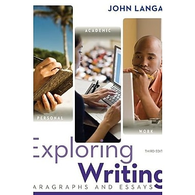 Exploring Writing: Paragraphs and Essays w/ Connect Writing 2.0, Used Book (9781259135811)