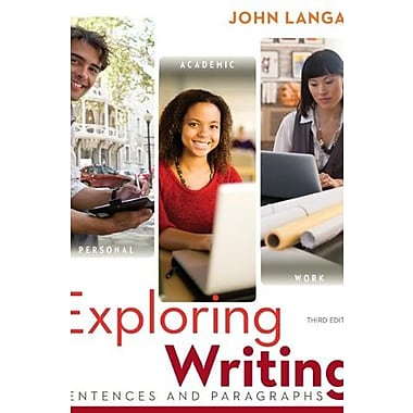 Exploring Writing: Sentences and Paragraphs w/ Connect Writing 2.0, Used Book (9781259139376)