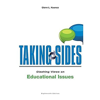 Taking Sides: Clashing Views on Educational Issues, New Book (9781259171024)