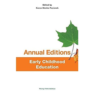 Annual Editions: Early Childhood Education, 35/e, Used Book (9781259171383)