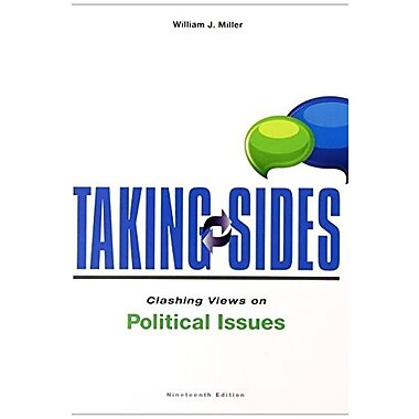 Taking Sides: Clashing Views on Political Issues (9781259215735)