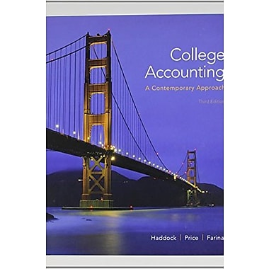 College Accounting (A Contemporary Approach) with Connect Plus (9781259284854)
