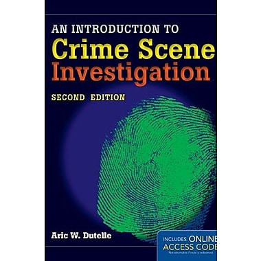 An Introduction to Crime Scene Investigation, New Book (9781284020656)