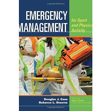 Emergency Management For Sport And Physical Activity, New Book (9781284022162)