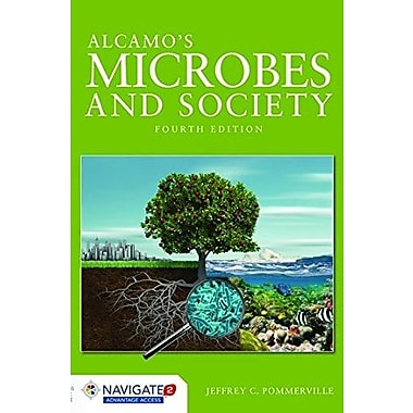 Alcamo's Microbes And Society (Jones & Bartlett Learning Topics in Biology), New Book (9781284023473)
