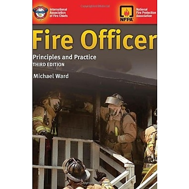 Fire Officer: Principles And Practice, New Book (9781284026672)