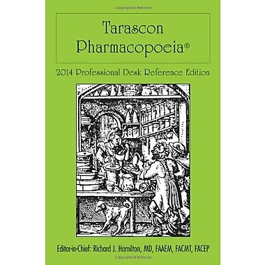 Tarascon Pharmacopoeia 2014 Professional Desk Reference Edition, Used Book (9781284026719)