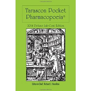 Tarascon Pocket Pharmacopoeia 2014 Deluxe Lab-Coat Edition, Used Book, (9781284026849)