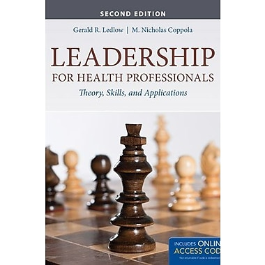 Leadership For Health Professionals, New Book (9781284026887)