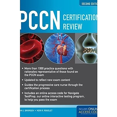 PCCN Certification Review, 2nd Edition, Used Book (9781284027488)