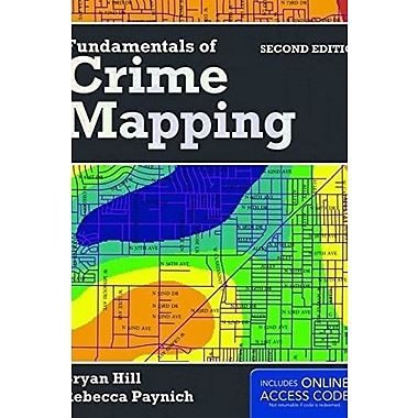 Fundamentals Of Crime Mapping, New Book (9781284028065)