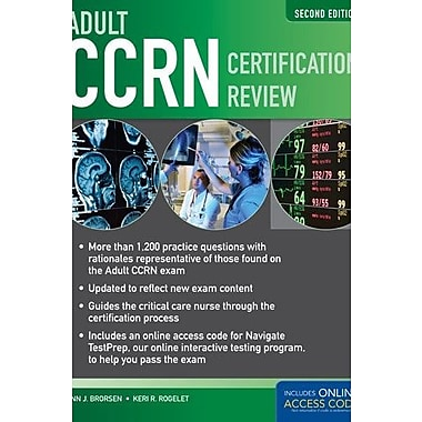 Adult CCRN Certification Review, 2nd Edition, New Book (9781284028386)
