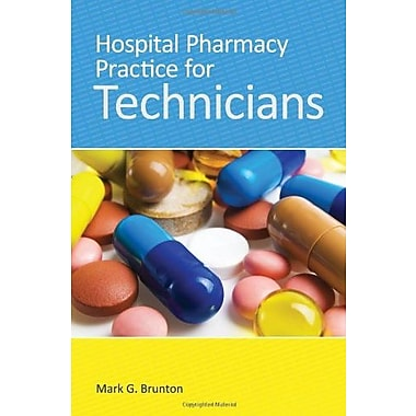 Hospital Pharmacy Practice For Technicians, Used Book (9781284030464)