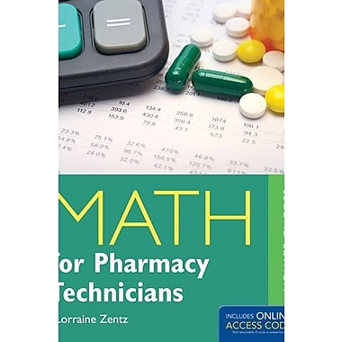 Math For Pharmacy Technicians (9781284031393)
