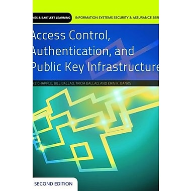 Access Control, Authentication, And Public Key Infrastructure (9781284031591), New Book