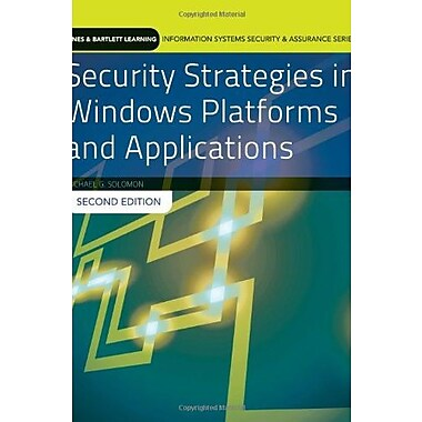 Security Strategies In Windows Platforms And Applications, New Book (9781284031652)