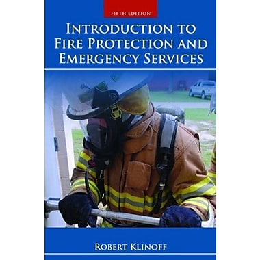 Introduction To Fire Protection And Emergency Services (9781284032987)