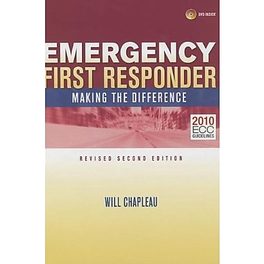 Emergency First Responder: Making the Difference, Used Book (9781284033069)