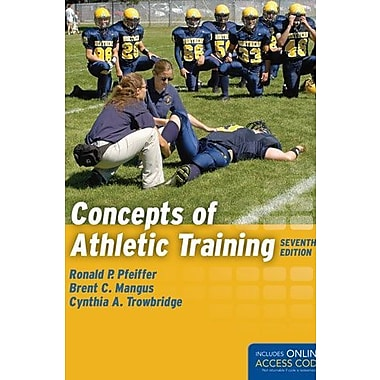 Concepts Of Athletic Training, New Book (9781284034127)