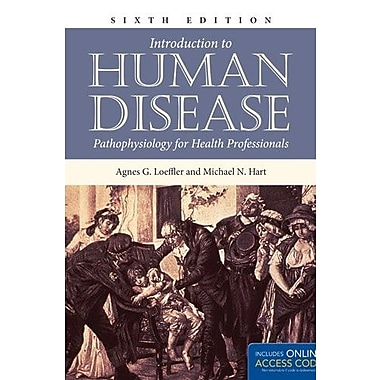 Introduction To Human Disease: Pathophysiology For Health Professionals (9781284038811), New Book