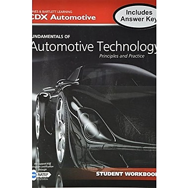 Fundamentals Of Automotive Technology Student Workbook, Used Book (9781284040869)