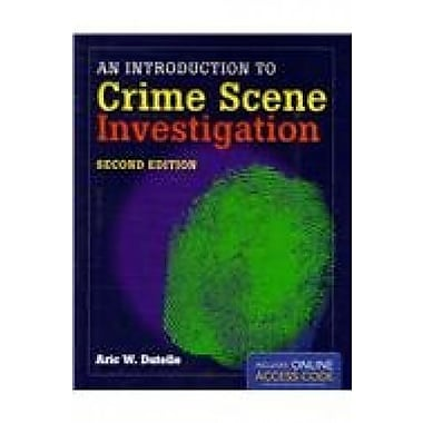An Introduction to Crime Scene Investigation (9781284048179)