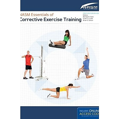 NASM Essentials Of Corrective Exercise Training: First Edition Revised, New Book (9781284050257)
