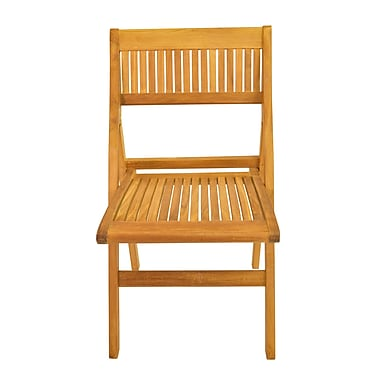 Anderson Teak Windsor Folding Patio Dining Chair (Set of 2)