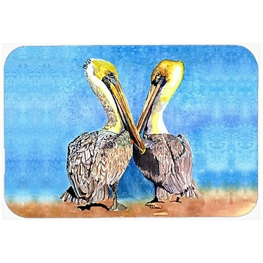 Caroline's Treasures Pelican Kitchen/Bath Mat; 20'' H x 30'' W x 0.25'' D