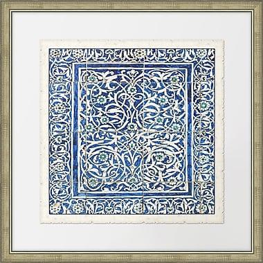 Melissa Van Hise Colorful Tiles I Framed Graphic Art