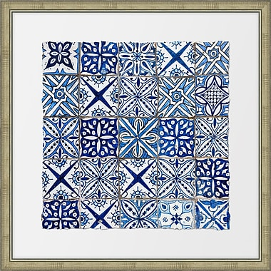 Melissa Van Hise Ancient Tiles II Framed Graphic Art
