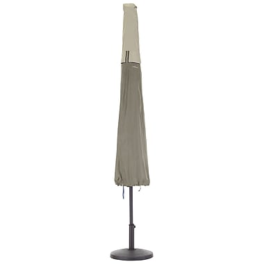 Classic Accessories Belltown Umbrella Cover; Gray