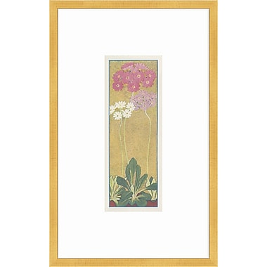 Melissa Van Hise Alpine Flora IX Framed Painting Print